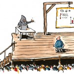 Death by powerpoint cartoon