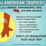 Zika virus poster from CDC