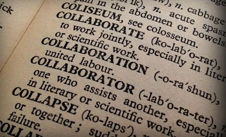 Collaboration defined in dictionary